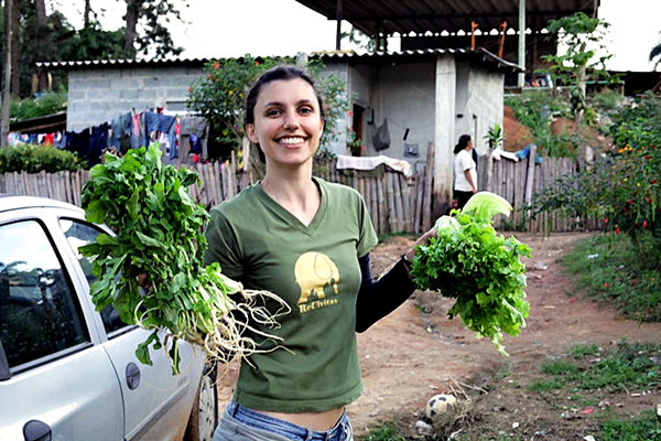 Gemüseanbau in Quatinga Velho