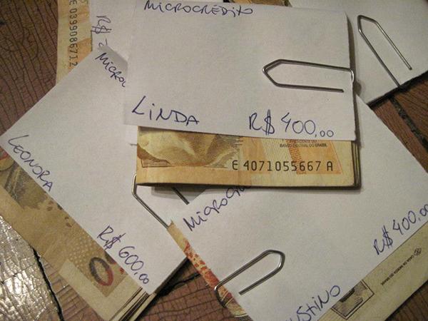 Microkredite in unterschiedlicher Höhe für einzelne Teilnehmer